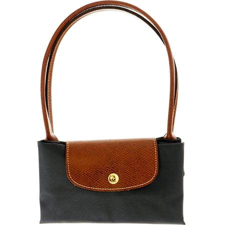 6cef39500a6 Longchamp Women's Small Le Pliage Bag Nylon Shoulder Bag Tote - Fusil -  Walmart.com