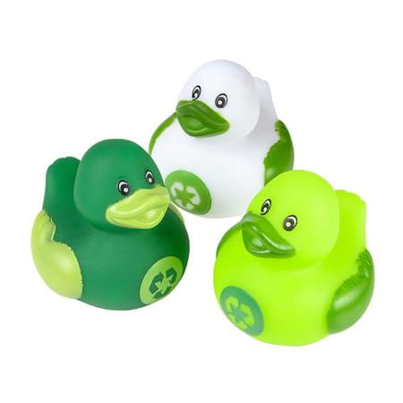 Recycle Rhode Island (Rhode Island Novelty - Rubber Ducks - RECYCLE DUCKIES (Set of 3)