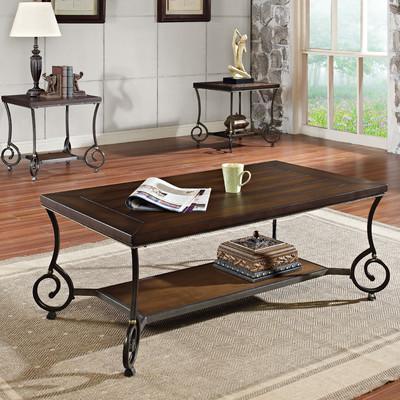 Bundle-12 Wildon Home   Maxson Coffee Table Set (2 Pieces)
