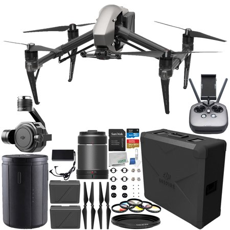 DJI Inspire 2 Quadcopter with 35mm f/2.8 ASPH LS Lens & Zenmuse X7 Camera and 3-Axis Gimbal