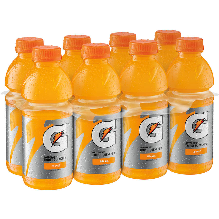 Gatorade Orange Sports Drink, 20 oz/8 pk