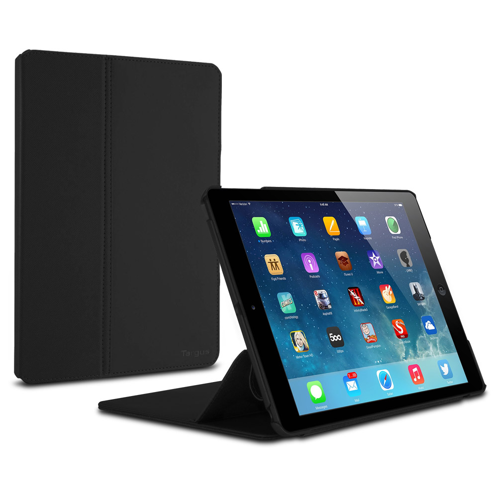 Targus FlipView Case for iPad Air, Noir Black