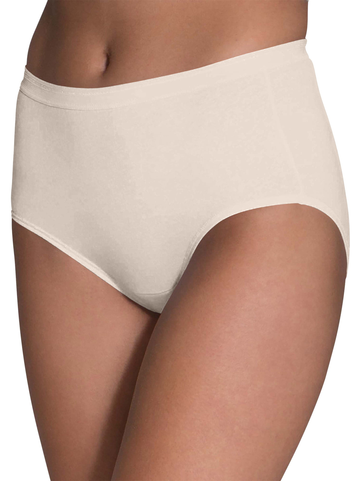 Fruit of the Loom Women's Cotton Brief Underwear, 10 Pack