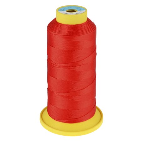 Unique Bargains Tailor Hand Embroidery Red 6# Sewing Quilting Thread Spool Reel