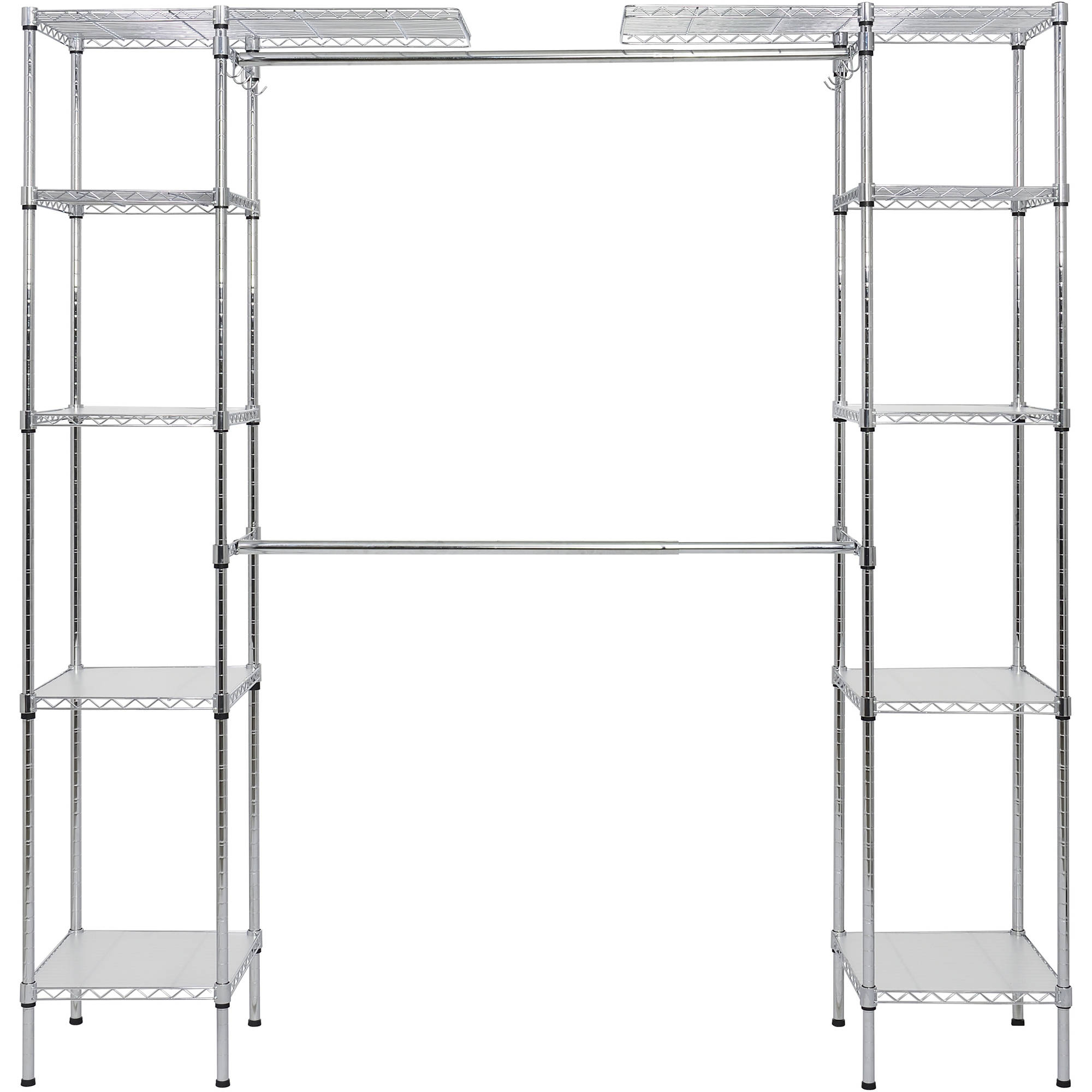 EDSAL ERZ722472S Bulk Storage Rack,Starter,72Wx24Dx72H In