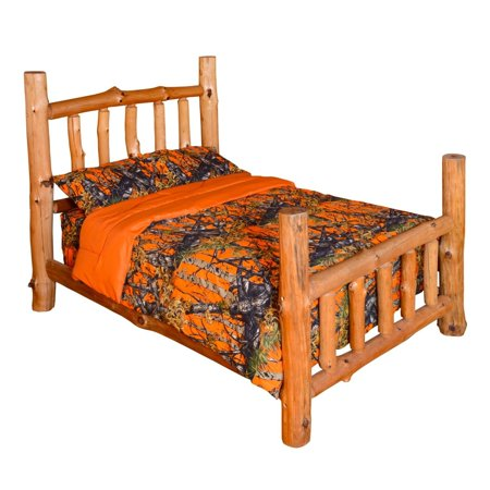 The Woods Orange Camouflage Premium Luxury Queen Comforter