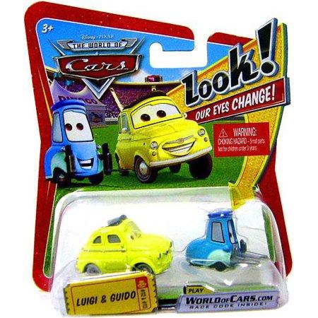 Disney Cars Lenticular Eyes Series 1 Luigi & Guido Diecast Car for $<!---->