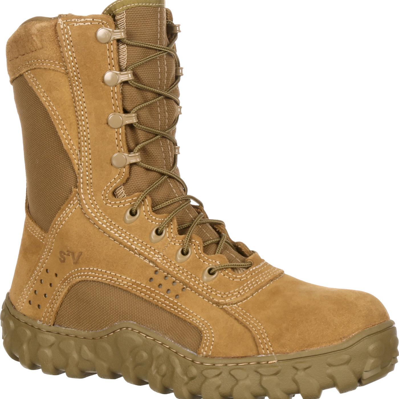 Rocky FQ0006104 S2V Steel Toe Tactical Military Boot by Rocky