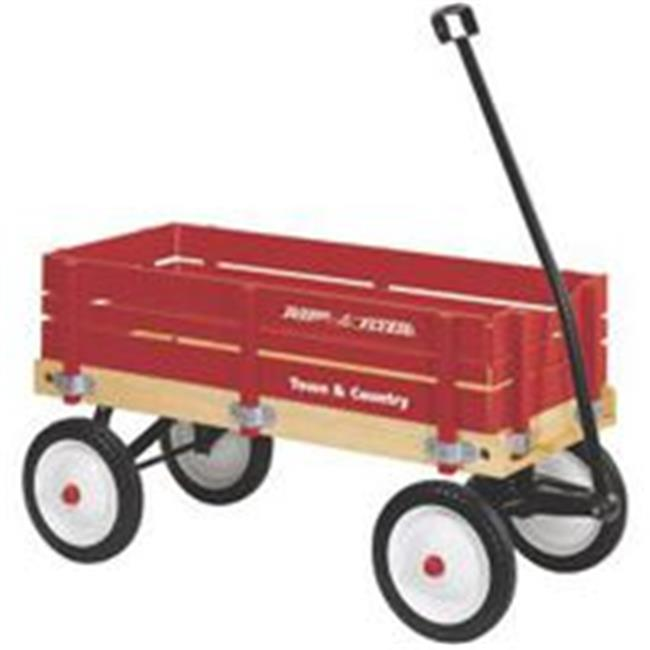 Radio Flyer Wagon Toy Town&Cntry 36X16. 5X9 24
