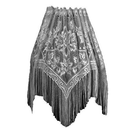 Heritage Lace Gala 60-Inch Wide by 22-Inch Lampshade Topper, Ecru](Lamp Topper)