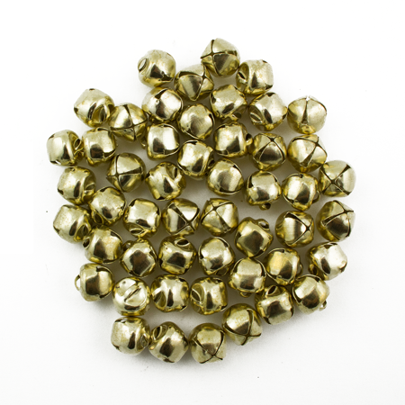 3/8 Inch 10mm Gold Small Craft Jingle Bells Charms Bulk 150 Pieces (Giant Jingle Bell)