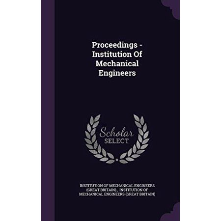 Proceedings - Institution of Mechanical Engineers - image 1 de 1
