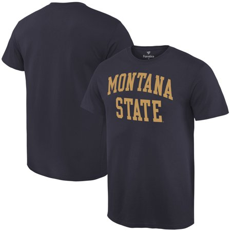 Montana State Bobcats Fanatics Branded Basic Arch Expansion T-Shirt - Navy ()