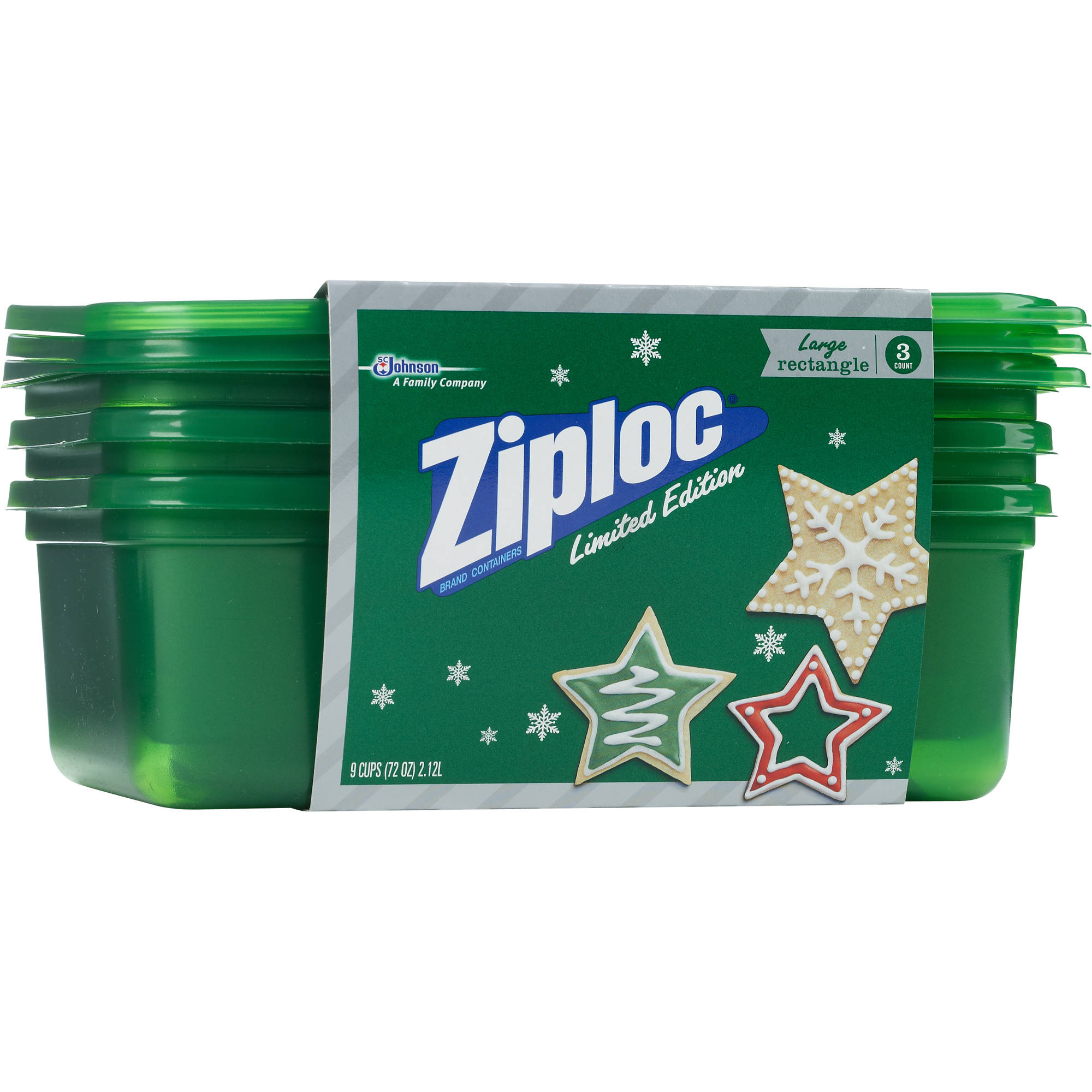 Ziploc Limited Edition Holiday Container Large ...