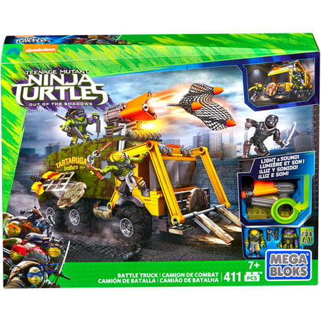 Mega Bloks Teenage Mutant Ninja Turtles, Battle Truck for $<!---->