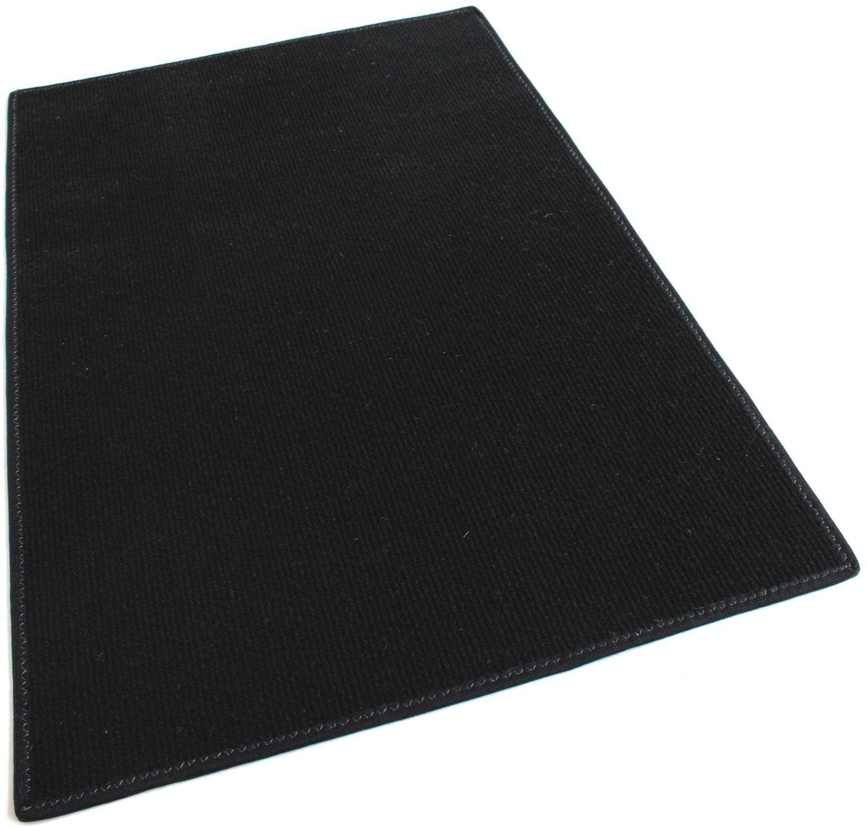Black Round Economy Indoor Outdoor Custom Cut Carpet Patio Pool