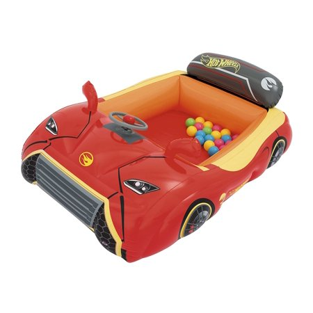 Hot Wheels Ball Pit, 53 x 39 x 17 inflated By (Best Way To Age Beef)