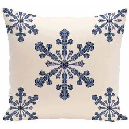 Generic Simply Daisy Holiday Print Decorative Pillow, 16