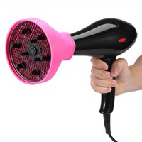 Hair Dryer Collapsible Diffuser, Silicone Hair Diffuser for Home & Travel - Lightweight, Easy to Pack Hair Diffuser - Salon Quality Hair Maintenance