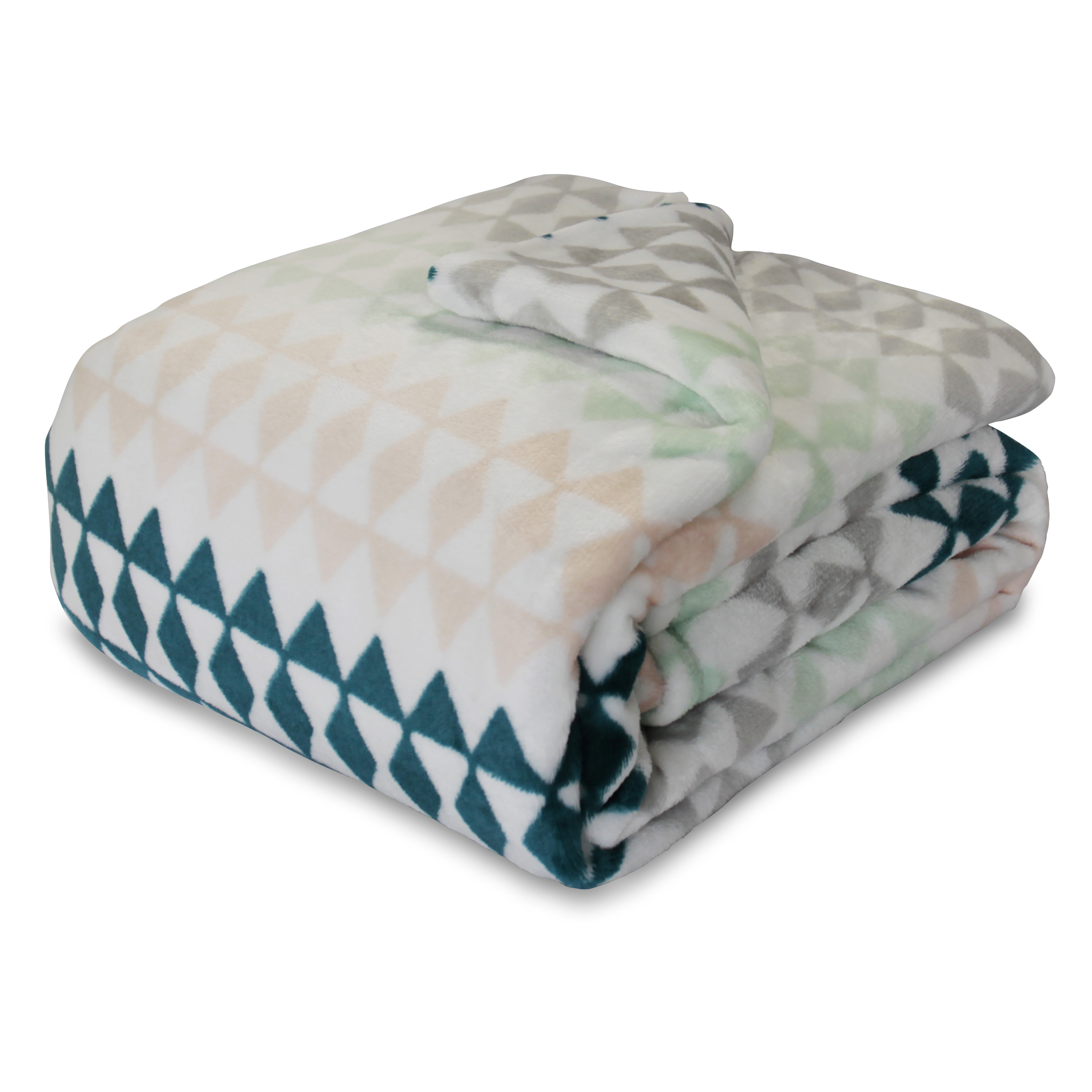 Mainstays Deluxe Plush Blanket, Multiple Sizes & Colors