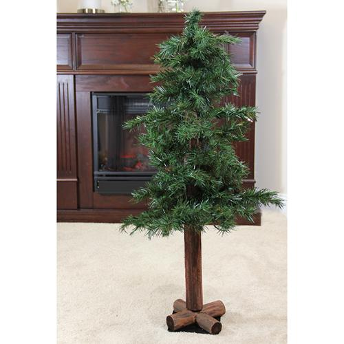 3' Woodland Alpine Artificial Christmas Tree - Unlit
