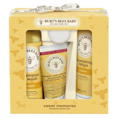Burt S Bees Baby Sweet Memories Gift Set With Keepsake