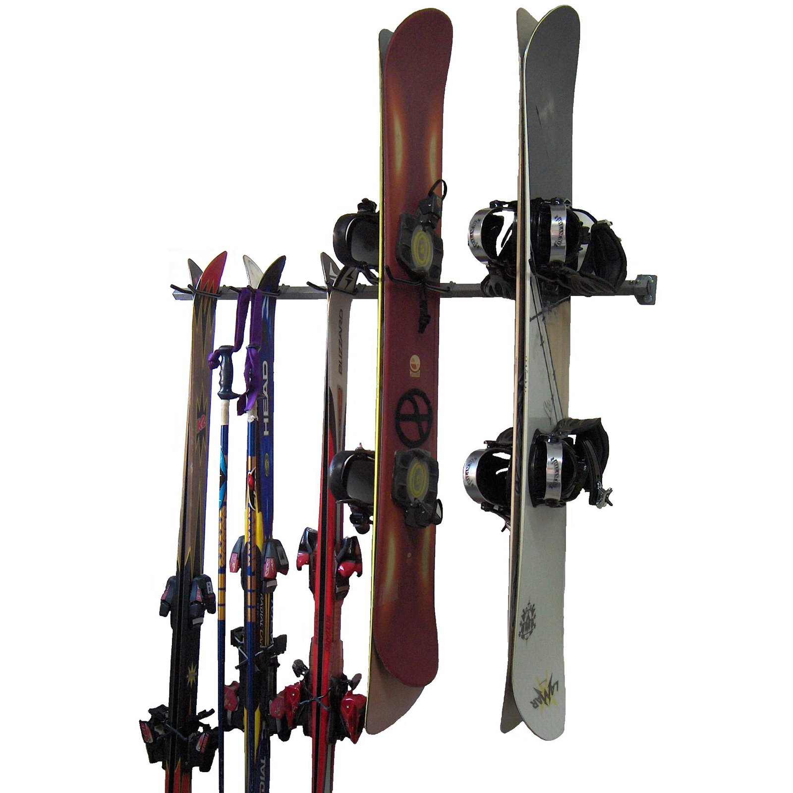 Monkey Bar Storage Ski and Snowboard Rack by Monkey Bars