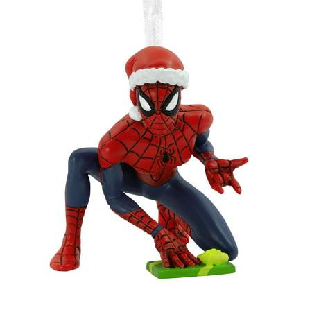 Hallmark Marvel: Spider-Man in Santa Hat Christmas Ornaments ()