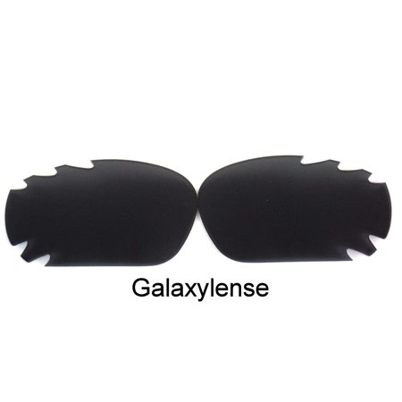Galaxy Replacement Lenses For-Oakley Racing Jacket Iridium Black Polarized 100%UVAB