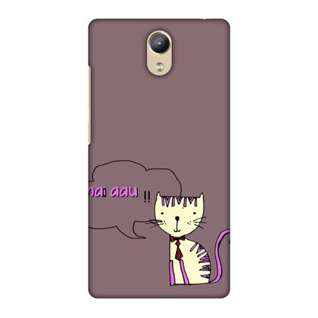 new concept dd864 dc807 Lenovo Phab 2 Case - Mai Aau Kitty- Plum, Hard Plastic Back Cover, Slim  Profile Cute Printed Designer Snap on Case with Screen Cleaning Kit