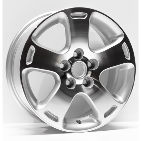 7 Spoke Silver Machined (2006-2007 Chevrolet HHR Replacement Wheel 16