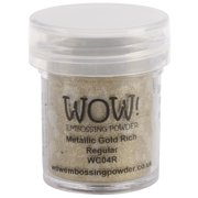WOW! Embossing Powder 15ml-Gold Rich
