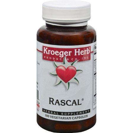 Rascal 100 Capsules - Kroeger Herb Rascal - 100 Capsules