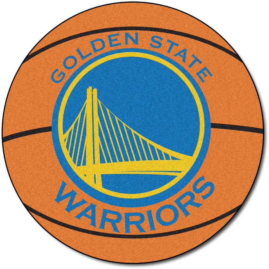 NBA Golden State Warriors Nylon Face Basketball Rug 10213