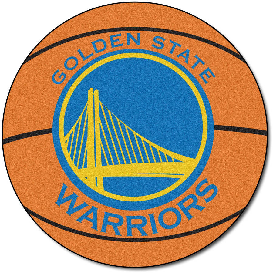 NBA Golden State Warriors Nylon Face Basketball Rug