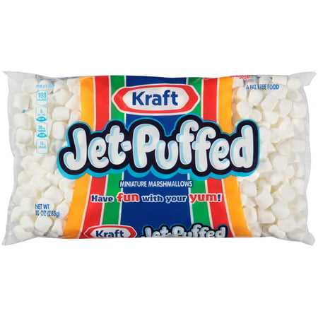 (5 Pack) Jet-Puffed Miniature Marshmallows, 10 oz Bag - Stormtrooper Marshmallows