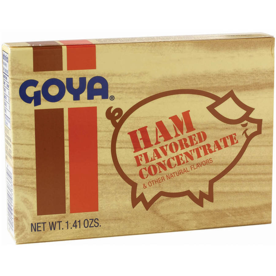 Goya Ham Concentrate Flavor Packet, 1.41 oz (Pack of 36)