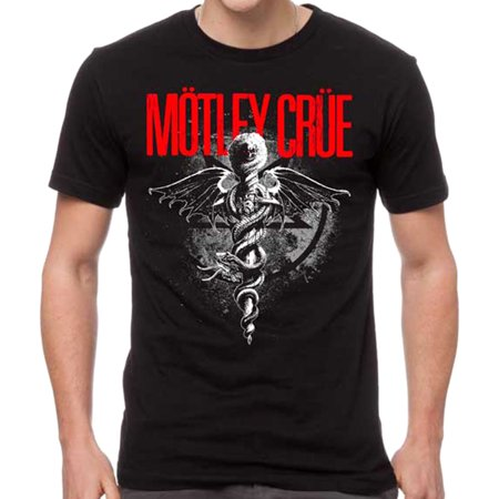 Miley Cyrus T-shirts - Motley Crue Men's Dr. Feelgood T-Shirt
