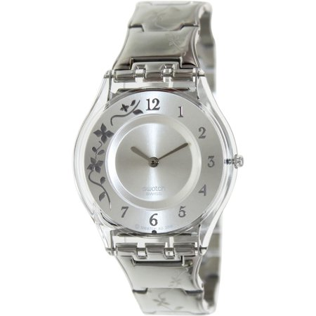 Swatch Climber Flowery Skin Ladies Watch SFK300G ()