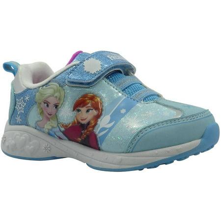 3b0b475eccc9 Disney - Frozen Anna and Elsa Toddler Girls' Athletic Shoe - Walmart.com