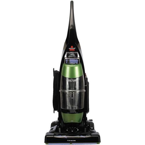 Bissell Total Floors Pet Bagless Upright Vacuum, Black/Green/Purple, 61C5W