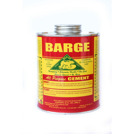 BARGE All-Purpose CEMENT Rubber Leather Shoe Waterproof Glue 1 Qt  (o.946