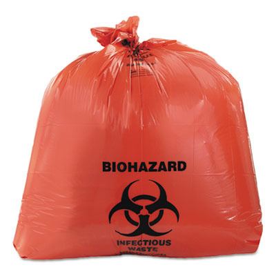 Healthcare Biohazard Printed Can Liners HERA8046ZR