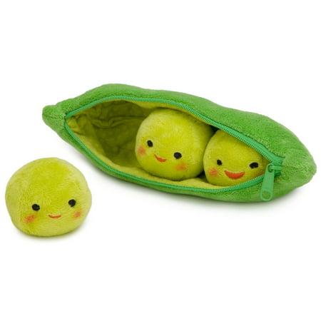 Disney Store 3 Peas-in-a-Pod Plush - Toy Story 3 - Mini Bean Bag - 8