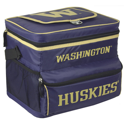 NCAA University Of Washington 18-Can Cooler with Removable Hardliner