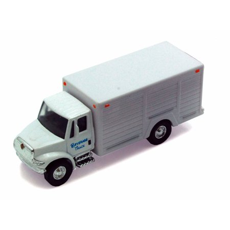 International Beverage Delivery Truck, White - Showcasts 2112DBV - 5.25 Inch Scale Diecast Model Replica (Brand New, but NOT IN BOX)