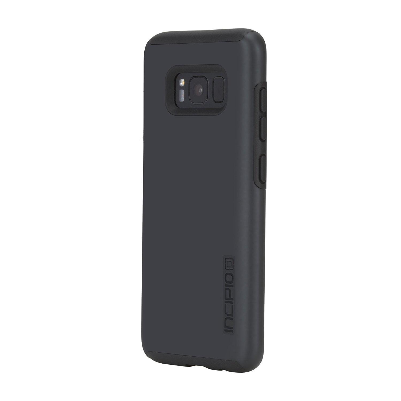 Incipio Shock Absorbing DualPro Case for Samsung Galaxy S8 Iridescent Black by Incipio Technologies