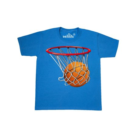 Basketball T-shirt (Basketball Swish Youth T-Shirt )
