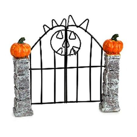 Halloween Miniscape Gate: 4.5 x 4 - Disfraces Halloween Gata