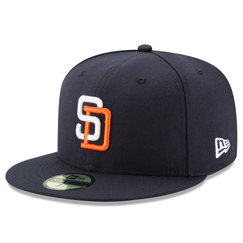 San Diego Padres New Era 2017 Turn Back the Clock 59FIFTY Fitted Hat - Navy